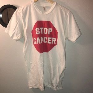 American Apparel Stop Cancer T-Shirt